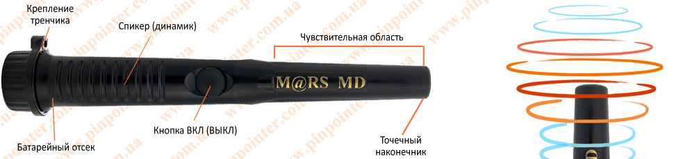 Купить Mars MD pointer (Марс поинтер)